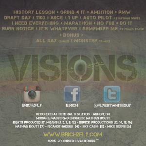 B Rich Visions BACK